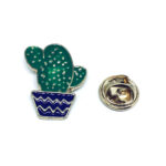 Gold platting Cactus Pin