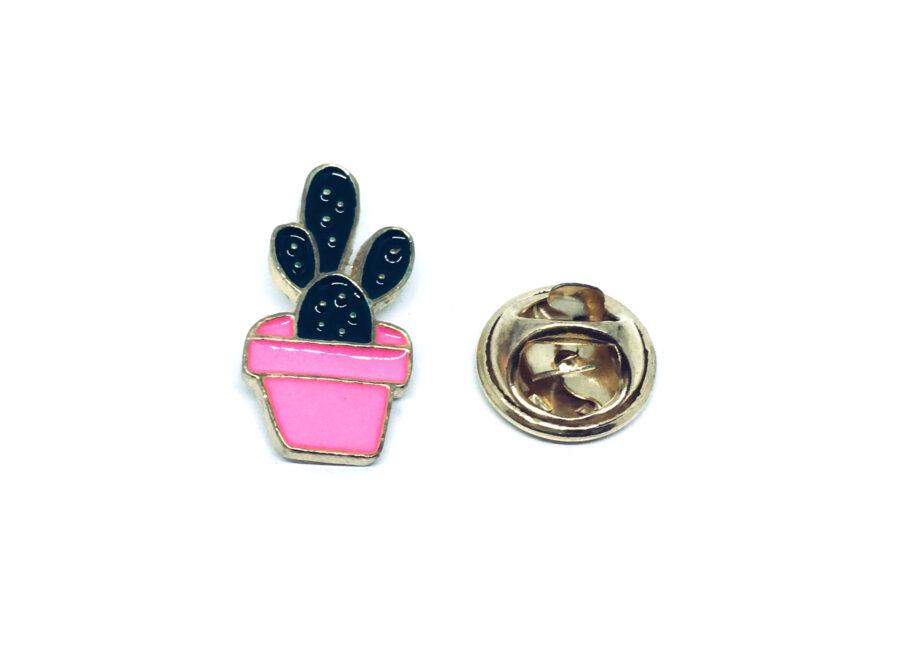 Gold platting Cactus Lapel Pin