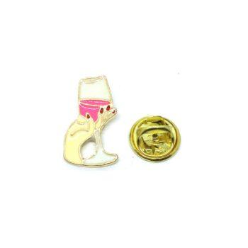Wine Cheer Lapel Pin