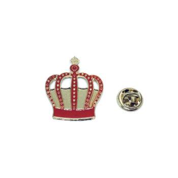 Crown Enamel Pin