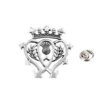 Celtic Crown Pin
