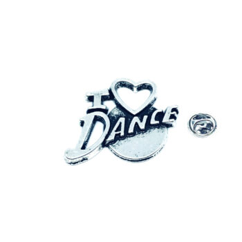 I Love Dance Lapel Pin