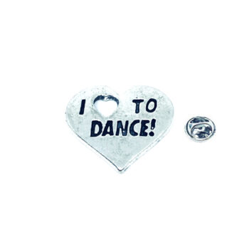 I Love Dance Pin
