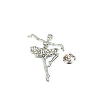 Crystal Dance Pin