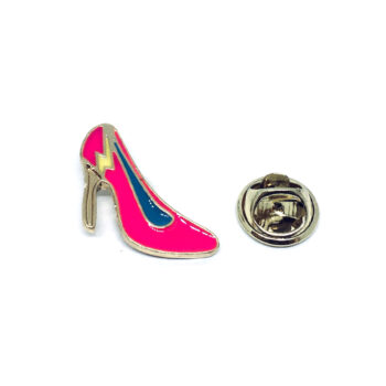 Gold tone Enamel Dance Lapel Pin