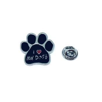 I Love Dog Pin