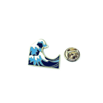 Ocean Wave Enamel Pin