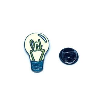 Bulb Enamel Pin