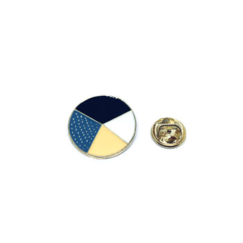 Round Charm Enamel Pin