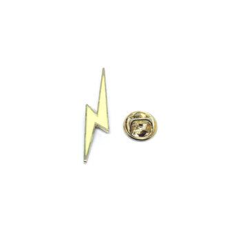 Lightning Enamel Pin
