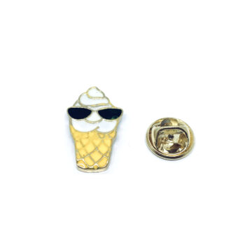 Gold plated Enamel Pin