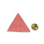 Triangle Enamel Lapel Pin