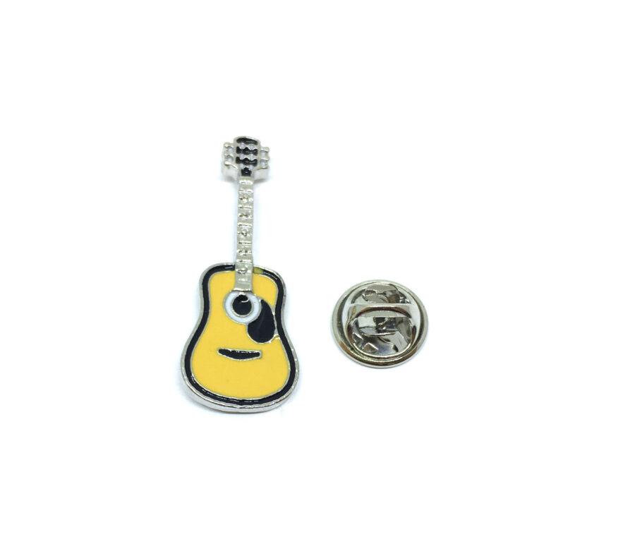 Guitar Enamel Lapel Pin