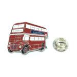 Enamel London Bus Lapel Pin