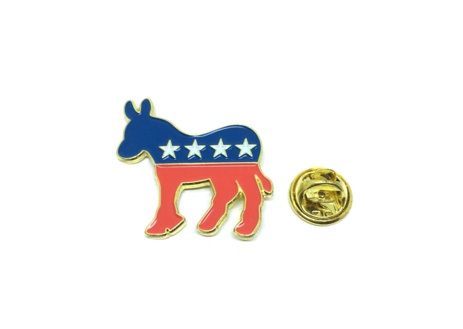 The USA Democratic Party Lapel Pin