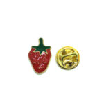 Red Enamel Lapel Pin
