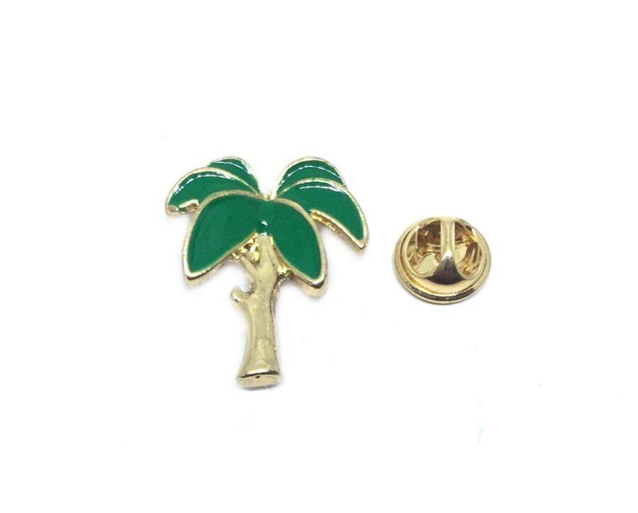 Palm Tree Enamel Lapel Pin