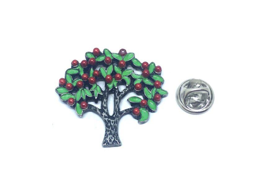 Colorful Tree Enamel Lapel Pin
