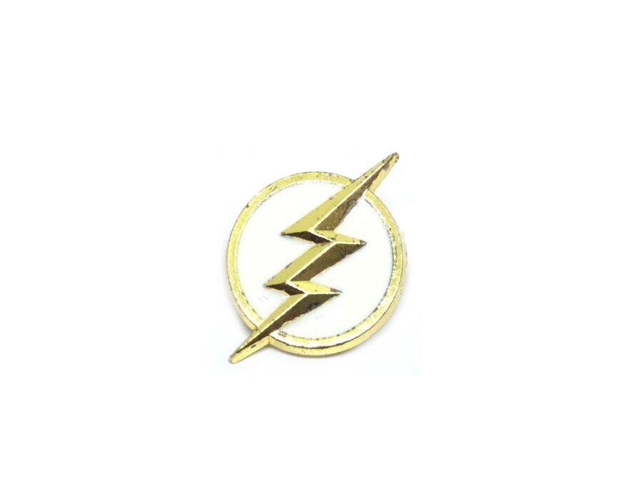 Lightning Enamel Lapel Pin