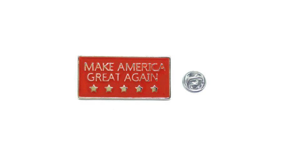"""""""MAKE AMERICA GREAT AGAIN"""" Enamel Lapel Pin"""