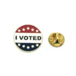 """I VOTED"" Enamel Lapel Pin"