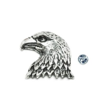 Silver plated Eagle Pin