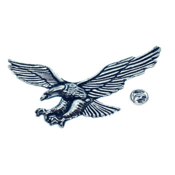 Silver plated Eagle Lapel Pin