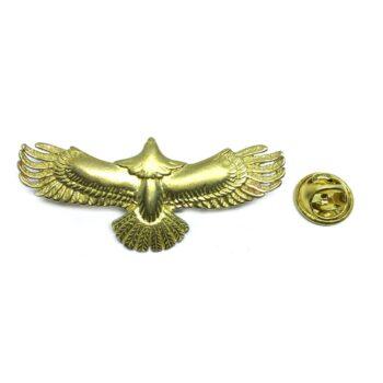 Gold platting Eagle Lapel Pin
