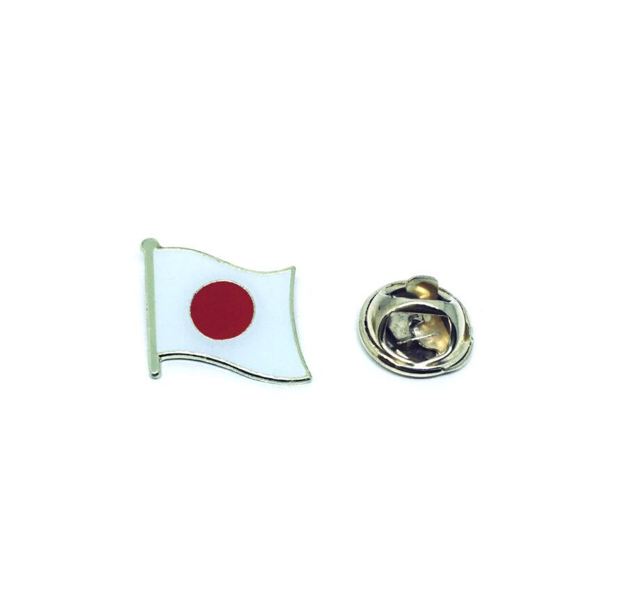 Japan Flag Lapel Pin