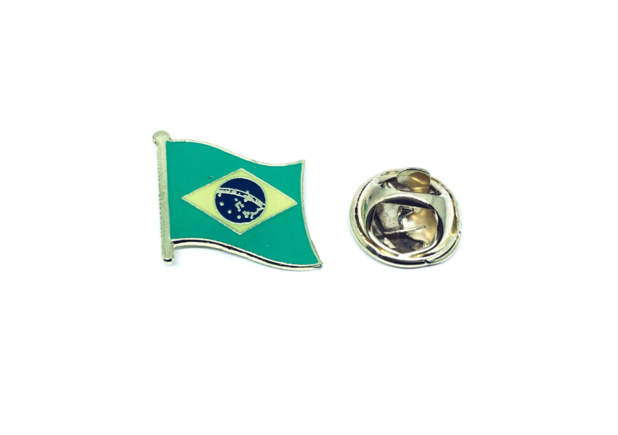 Brazil Flag Lapel Pin