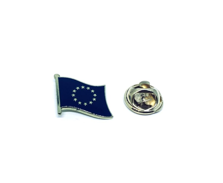 European Flag Lapel Pin