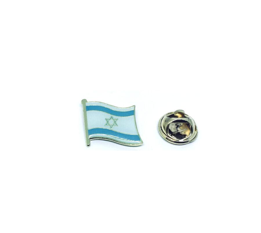 Israel Flag Lapel Pin