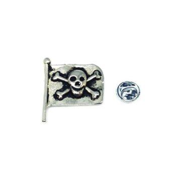Skull Flag Lapel Pin