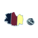 Germany Map Flag Lapel Pin