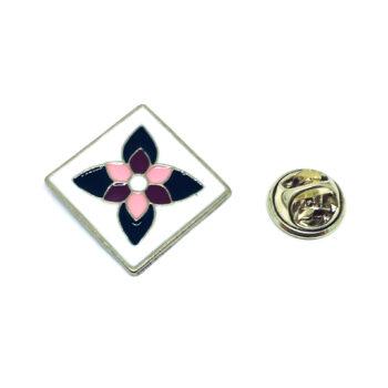 Flower Enamel Lapel Pin