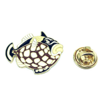 Fish Enamel Lapel Pin