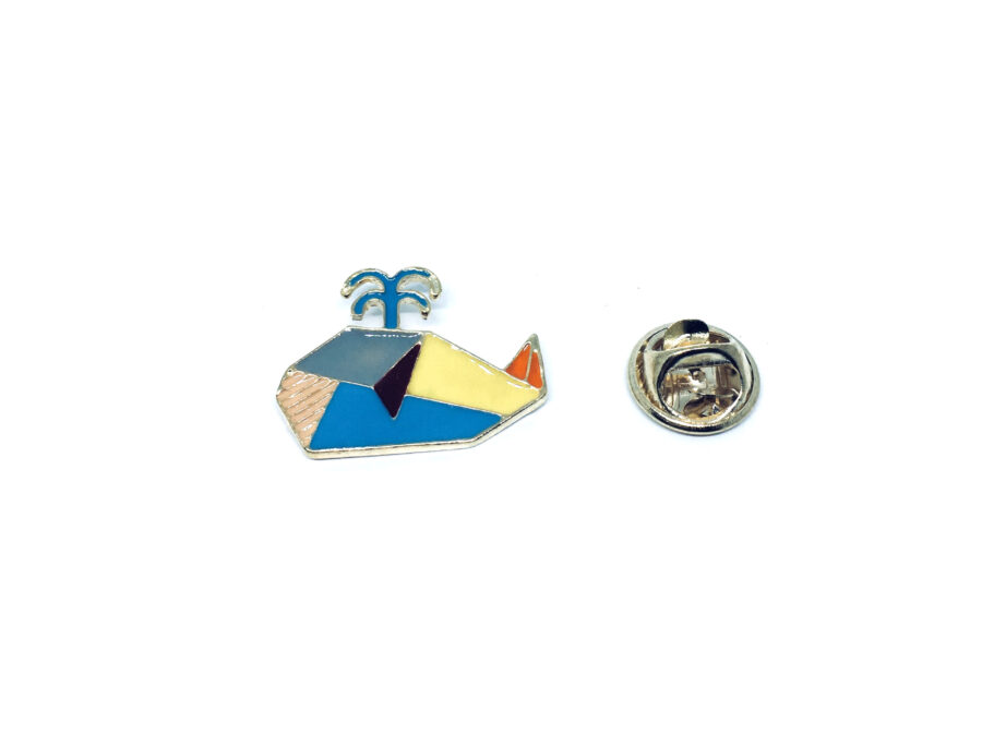 Whale Fish Pin