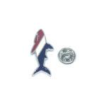 Flag Fish Lapel Pin