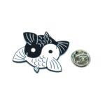 Joint Fish Lapel Pin
