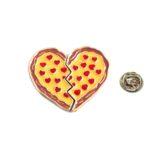 Broken Heart Lapel Pin