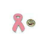 Pink Ribbon Enamel Lapel Pin