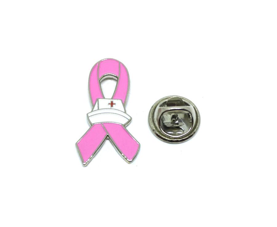 Medical Pink Ribbon Lapel Pin