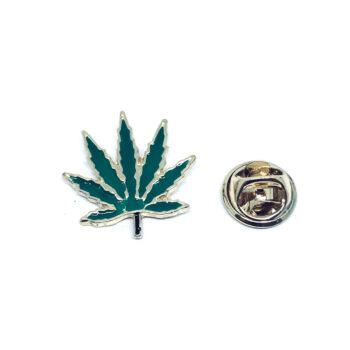 Leaf Enamel Lapel Pin