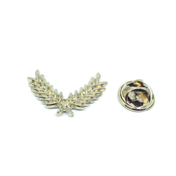 Gold tone Leaf Pin
