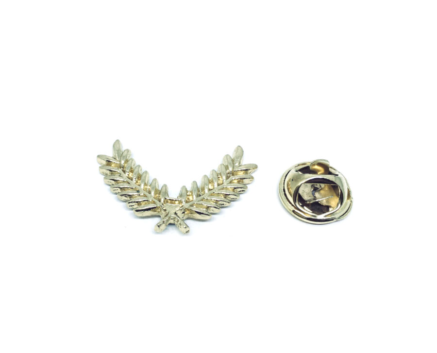 Gold tone Leaf Pin