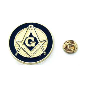 Masonic Enamel Lapel Pin