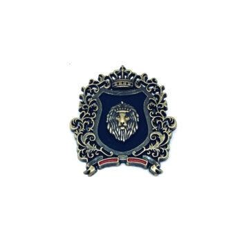 Lion Military Pin