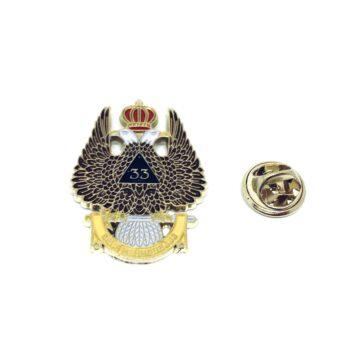 Military Enamel Pin