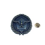 Antique Eagle Military Pin