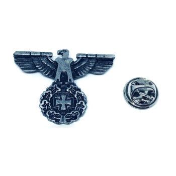 Antique Eagle Military Lapel Pin